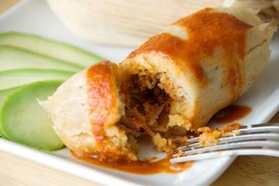 Receta Mexicana de Tamales de carne